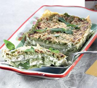 Рецепт Лигурийская лазанья