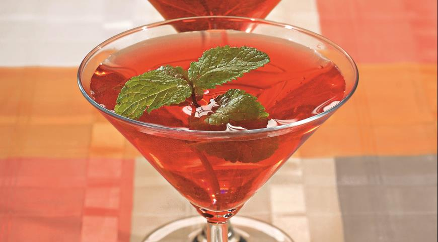 Рецепт Клюквенный мартини