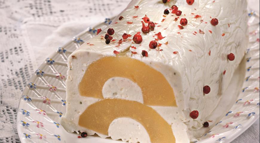 Рецепт Закуска из груш и сыра
