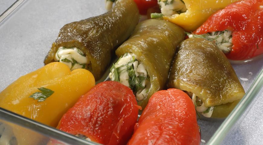 Рецепт Острая закуска из перцев