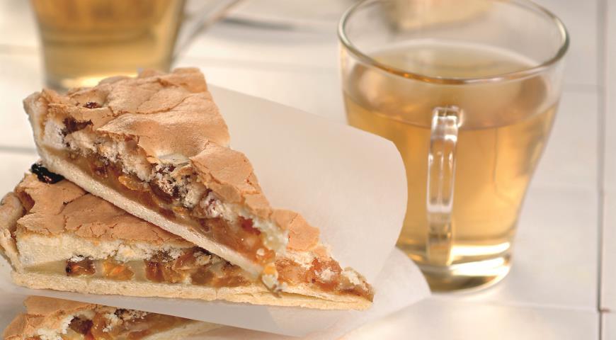 Рецепт Пирог с изюмом
