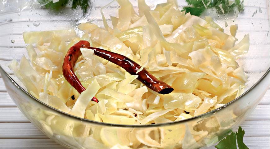 Рецепт Остро-пряная капуста