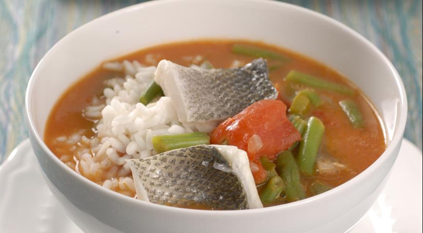 Рыбный суп рецепт из сибаса