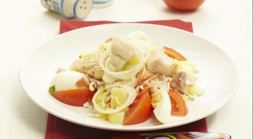 Рецепт Бретонский рыбный салат