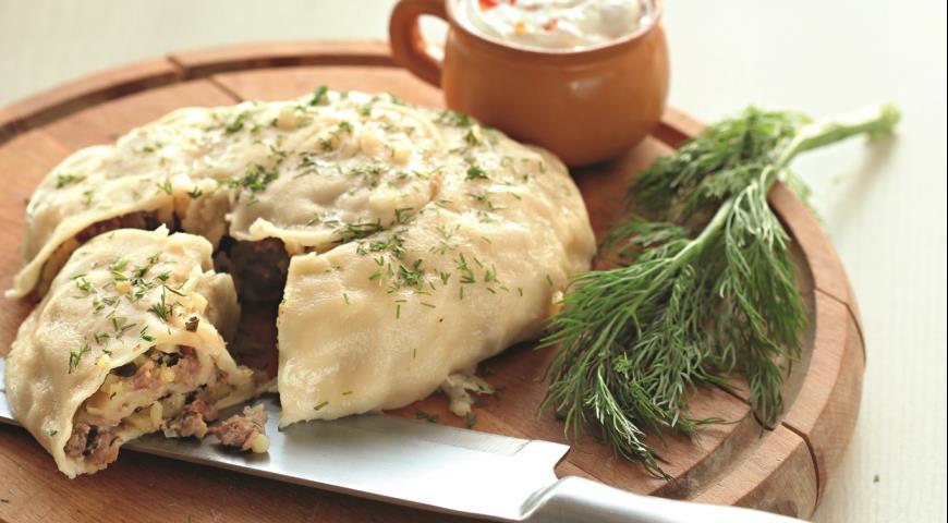 Рецепт Катлама с мясом и картофелем