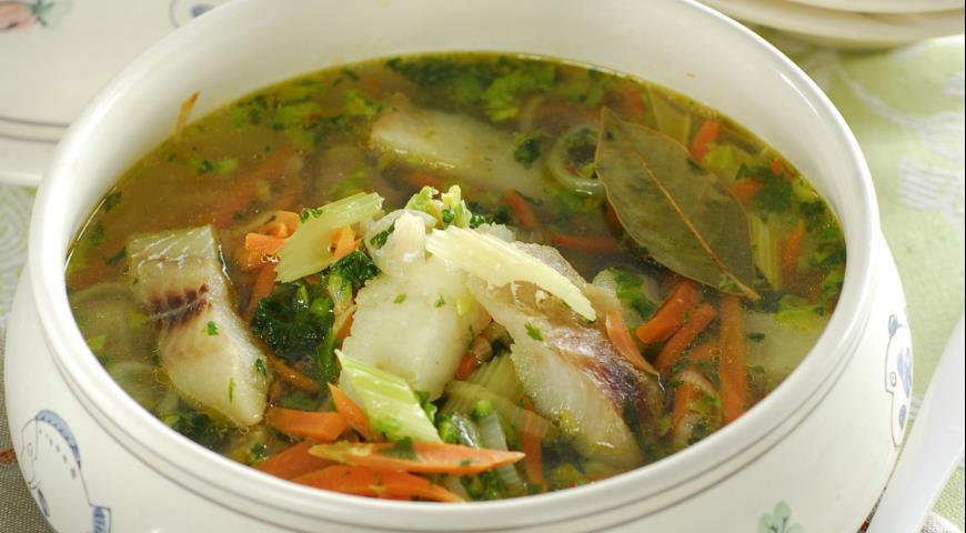 Рецепт Рыбный суп с сельдереем