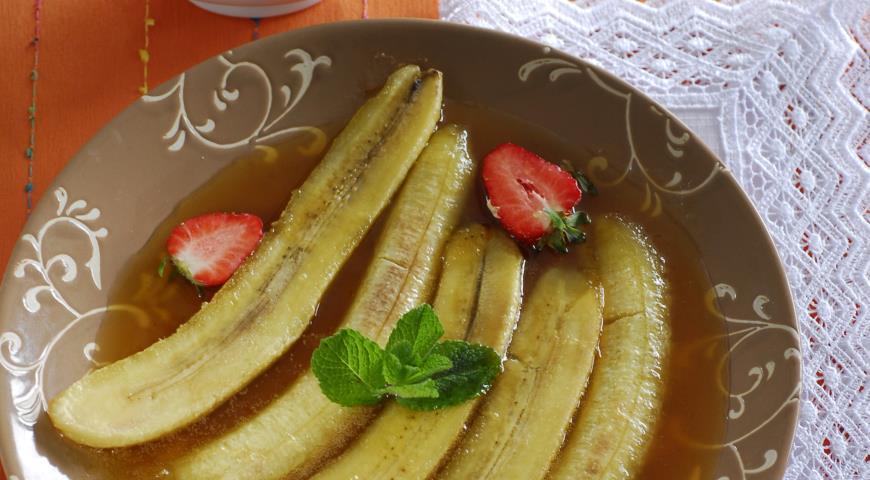 Рецепт Бананы фостер