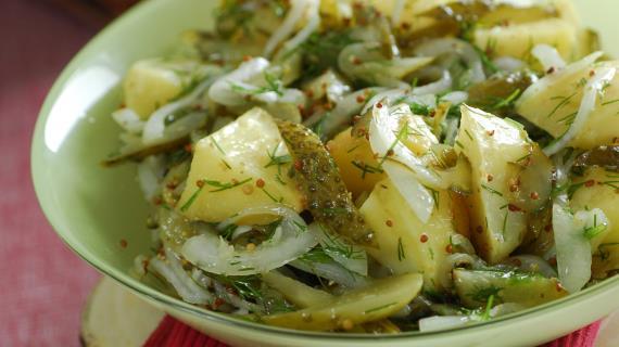 Какой салат можно сделать из картошки фото 475