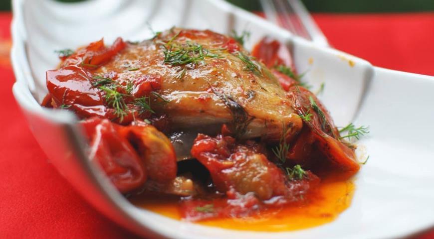 Рецепт Pollo all'ischitana (курица в стиле острова Искья)