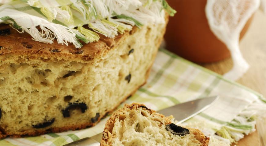 Рецепт Кипрский оливковый хлеб