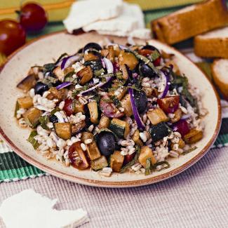 салат с перловкой фото рецепт пошаговый