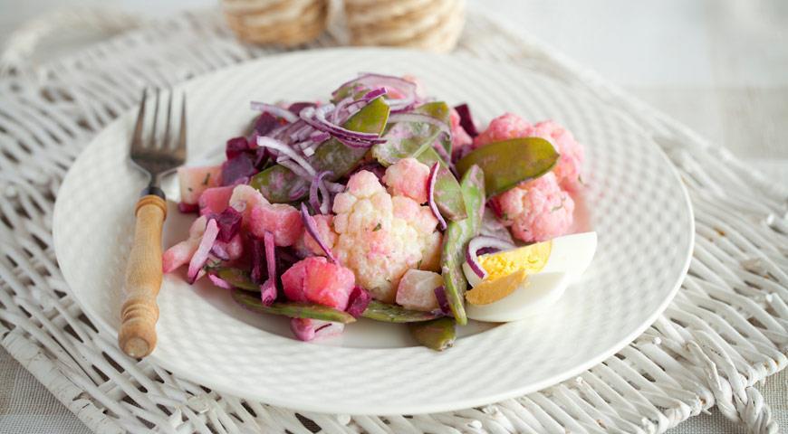 Рецепт Летний овощной салат