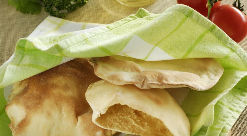Рецепт Пита, лепешка с кармашком