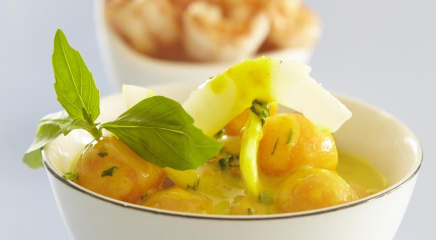 Рецепт Кокосовое карри с дыней