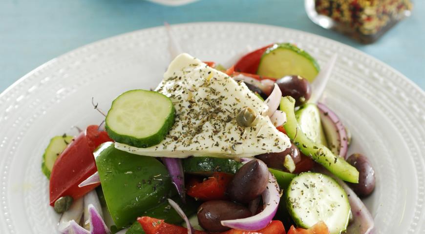Рецепт Критский греческий салат