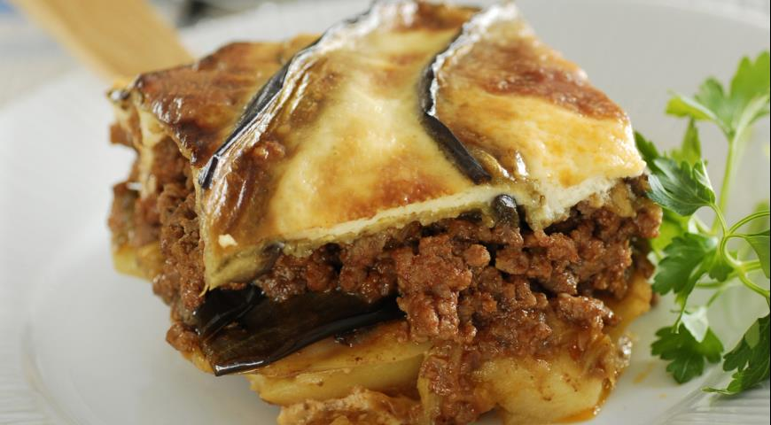 Рецепт Мусака - запеканка из мяса и овощей