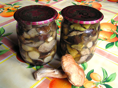 рецепт подосиновиков маринованных с лимоном
