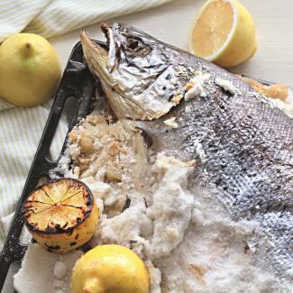 Рецепт Рыба в соли