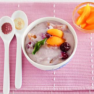Рецепт Манная каша с фруктами в мультиварке