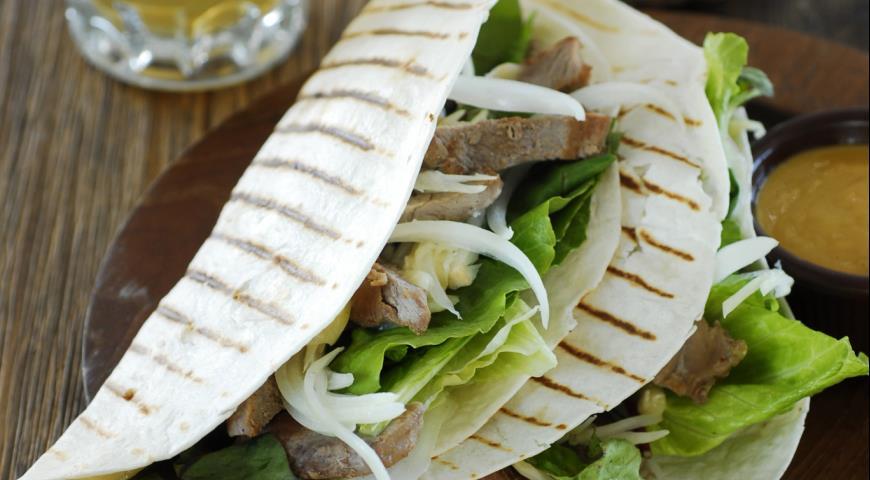 Рецепт Кесадильяс со свининой