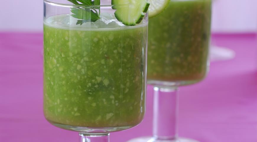 Рецепт Смузи-суп из авокадо