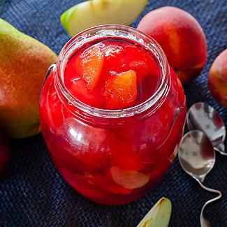 Рецепт Ароматный фруктовый джем в мультиварке