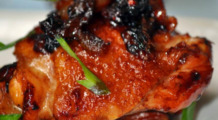 Рецепт Курица в кока-коле с карамелизованным луком по-шанхайски