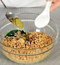 Пхали из капусты, пошаговый рецепт с фото