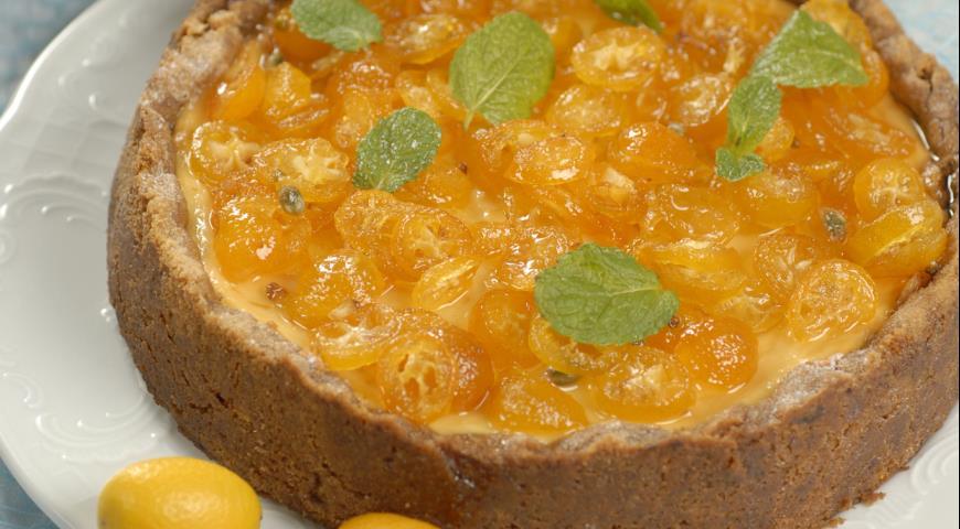 Рецепт Апельсиновый чизкейк с кумкватами