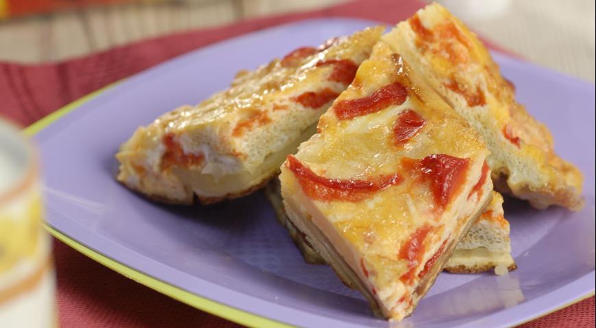 Рецепт Испанский омлет со сладкими перцами
