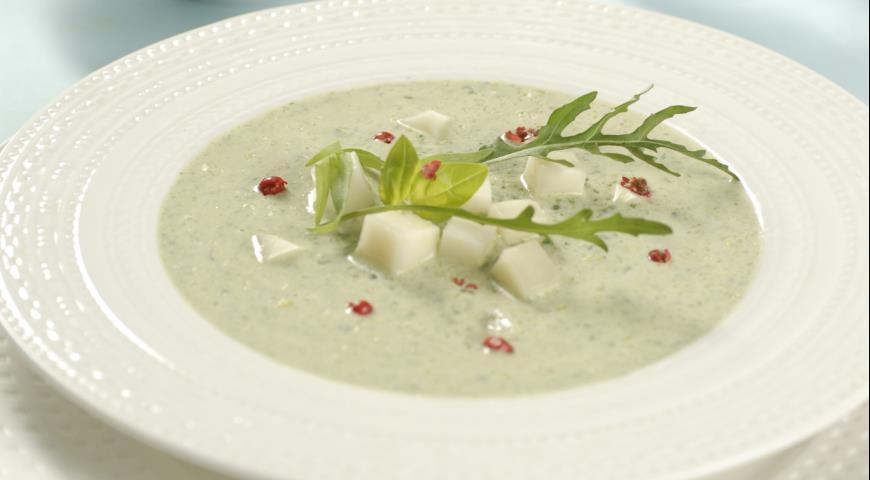 суп пюре из руколы рецепты