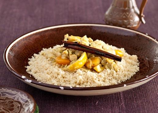 Быстрый таджин из курицы с кускусом, пошаговый рецепт с фото