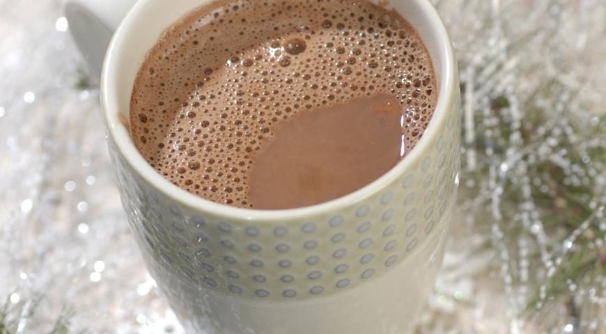 Рецепт Шоколадно-апельсиновый напиток