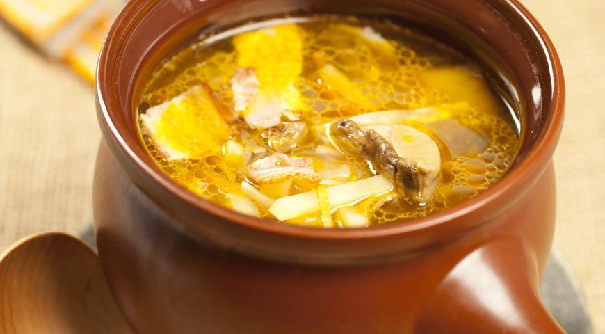 Рецепт Овощной суп со смальцем