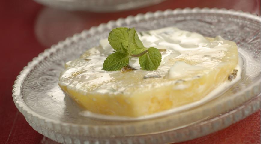 Рецепт Нежный ананасовый десерт