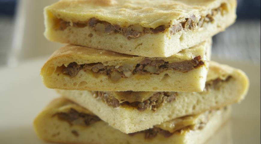 Рецепт Кубдари, сванский мясной пирог