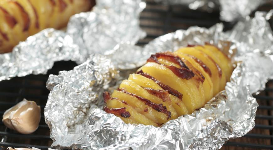 Рецепт «Гармошка» из картошки
