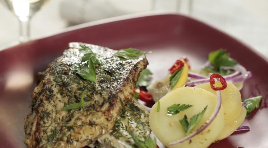Рецепт Рыба в лимонно-укропной панировке