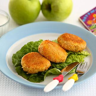 Рецепт Морковно яблочные котлеты в мультиварке
