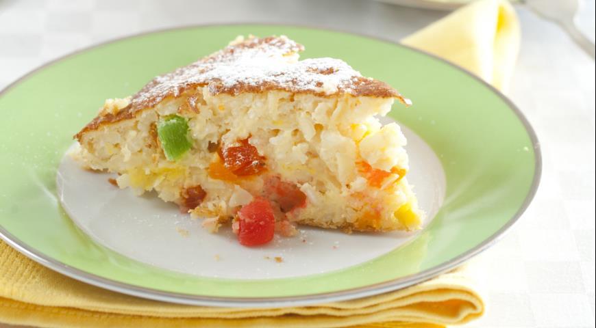 Рецепт Итальянский рисовый пирог