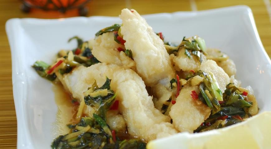 Рецепт Хрустящая рыба по-тайски