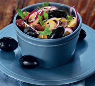 Рецепт Марокканский картофельный салат с маслинами