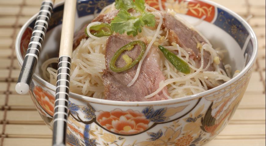 Рецепт Утиная грудка в азиатском стиле