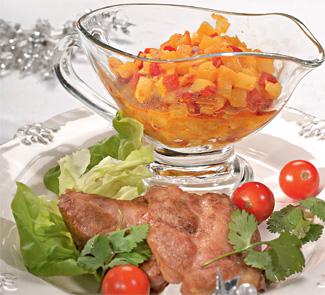 Рецепт Острый фруктовый чатни к мясу