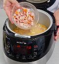 Гороховый суп с копченой курицей в мультиварке. Шаг 4