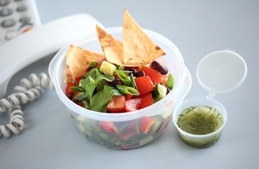 тортильяс с запеченными овощами