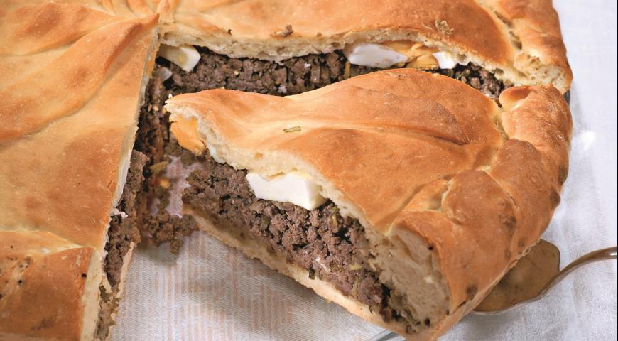 Рецепт Казачий пирог с ливером