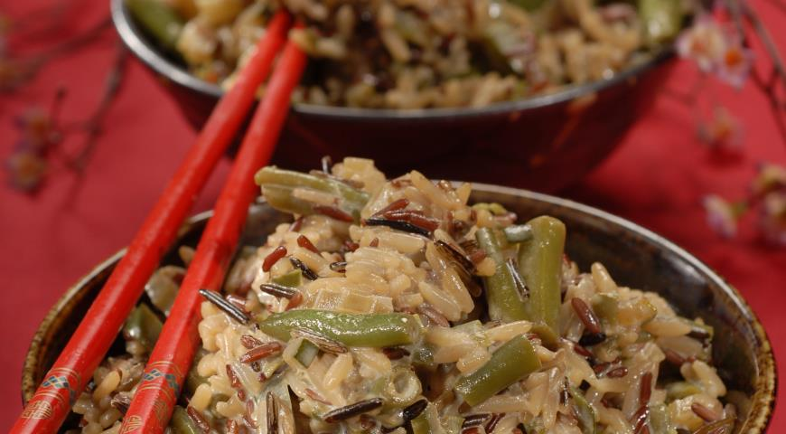 Рецепт Острый зеленый рис