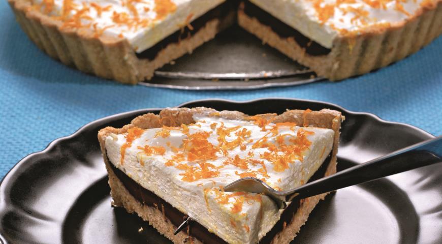 Рецепт Пирог с шоколадным кремом