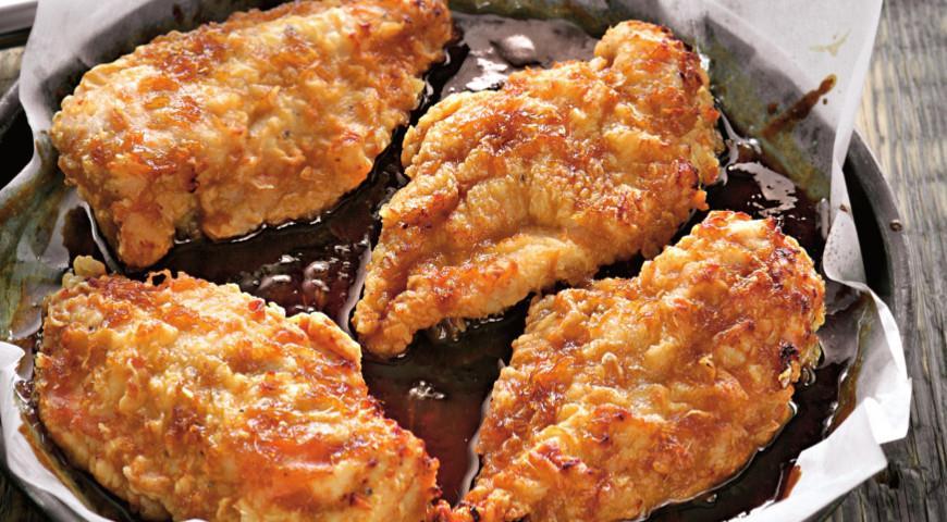 Рецепт Курица, запеченная с соусом терияки